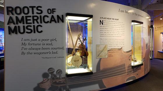 Roots of American Music museum exhibit