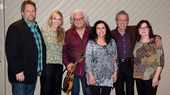 Group backstage at Show for Joe